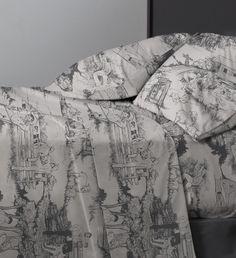 Cowpokes • Slate • Sexy Bed Sheets - Vice Merchants