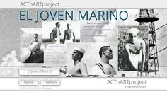 "ACTnARTproject ""El Joven Marino - barca sin norte"" performed by René, David, Jan, Salva and Mirco  #male #models #photography #sailors #marine #nautic  #actnart #actnartproject"