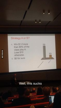 This is what happens when you let econ students play games - 9GAG