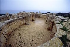 Did you know Malta is home to some of the oldest freestanding structures in the world? Mnadjra megalith temple - Malta