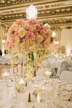 Romantic florals and candlelit ~  U Me Us Studios, Vo Floral Design | bellethemagazine.com