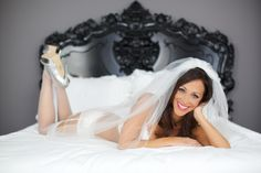 don't forget to capture some boudoir shots before you hop in that stunning dress #boudoir #bridal #photography http://www.jennytaylorboudoirs.com