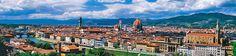 PIAZZALE MICHELANGELO Fu edificato da Giuseppe Poggi nel 1869. Il Piazzale è il punto di osservazione del panorama di Firenze più famoso. Infatti si possono ammirare i monumenti principali del centro storico: Santa Croce, i ponti della città, il Duomo, il Palazzo Vecchio.  Essendo dedicato a Michelangelo Buonarroti, ci sono al Piazzale delle riproduzioni delle sue opere, come per esempio il David.  #Florence #Tuscany #Firenze #Italy #MadeofTuscany  www.madeoftuscany.it