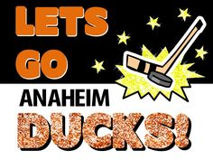 Anaheim Ducks Poster Idea!