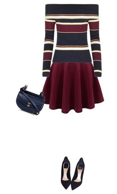 """stripes"" by divacrafts ❤ liked on Polyvore featuring Christian Dior, Chloé and Original"