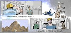 These 7 Comics Perfectly Capture The Attitudes You Need to Succeed