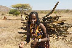 Borana Oromo woman, southern Ethiopia