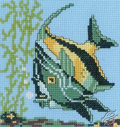 Fish - Cross Stitch Kits by RTO - H163