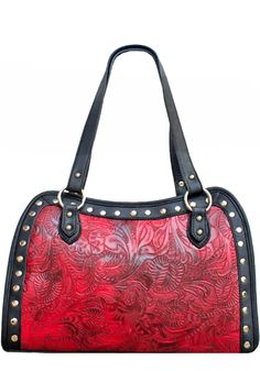 When The West Was Won Purse Red AT COWGIRL BLONDIE'S WESTERN BOUTIQUE