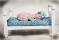 Newborn Photography Prop  Infant Bed  Doll Bed by CardozaWood, $110.00