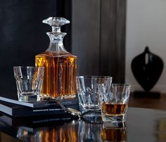 HARCOURT SQUARE WHISKEY DECANTER