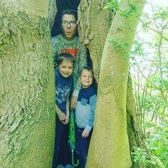 Look I found tree elves!! #familyfun #familywalk #brothers #ukmumsquad