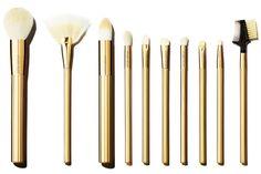 Sonia Kashuk Lavish Luxe 10-Piece Brush Set ($30)