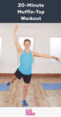 "It's time to show your love handles a little love. And by love, we mean ""work your waist."" Barre instructor Jake DuPree will lead you through a"