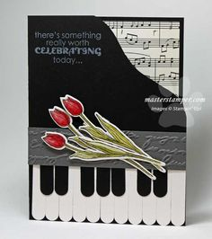 Piano Card is Music to My Eyes