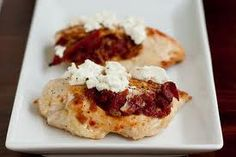SDTGC (Sun-Dried Tomato and Goat Cheese) Stuffed Chicken