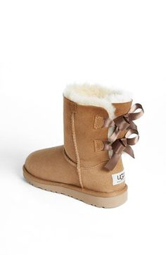 UGG® Australia 'Bailey Bow' Boot (Walker, Toddler, Little Kid &