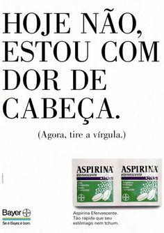 TÍtulo publicitário FODA do dia.