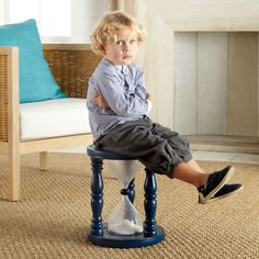 Time-Out Timer Stool-Cute Idea