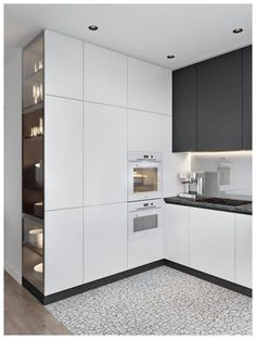 Modern Kitchen Design – Want to refurbish or redo your kitchen? As part of a modern kitchen renovation or remodeling, know that there are a . Kitchen Room Design, Modern Kitchen Design, Home Decor Kitchen, Kitchen Living, Interior Design Kitchen, Home Design, Design Ideas, Kitchen Ideas, Kitchen Designs