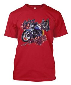 Highway Honey Motorcycle Flowers Butterflys Biker Ladys Men's Size T-shirt Tee (Medium, RED)  http://bikeraa.com/highway-honey-motorcycle-flowers-butterflys-biker-ladys-mens-size-t-shirt-tee-medium-red/