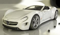 "Toys for Boys: Beautiful white mercedes. Share if you like Kugati ""enjoy accessories, fashion, lifestyle"""