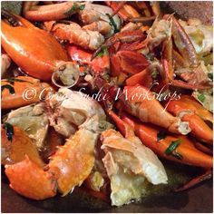 Spicy Caribbean crab!