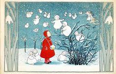 Elsa Beskow Snow Babies