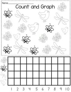 spring graph worksheet