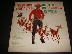 Vintage Gene Autry Christmas Album.......my mother has this album ...