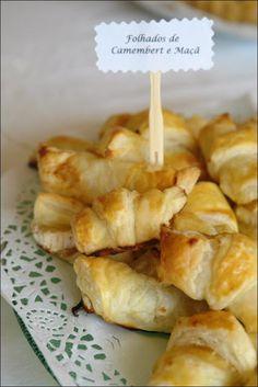 Hoje para jantar ...: Folhados de Camembert e maçã