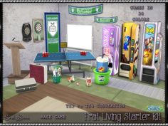 Frat Living Starter Kit at SrslySims • Sims 4 Updates