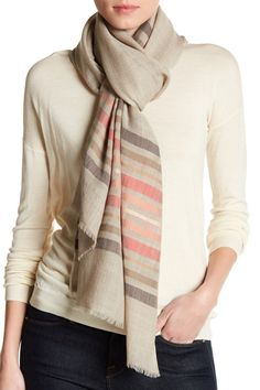 Wool & Silk Blend Wrap