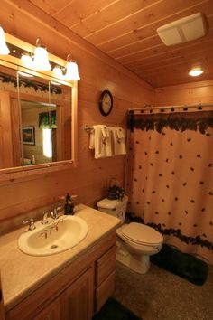 1000 Images About Log Home Bathrooms On Pinterest