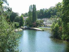 La Charente au pied d'Angoulême