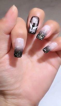 Nail Art Designs Videos, Nail Art Videos, Best Nail Art Designs, Christmas Nail Polish, Cute Christmas Nails, Asian Nails, Plaid Nails, Best Acrylic Nails, Nail Art Hacks