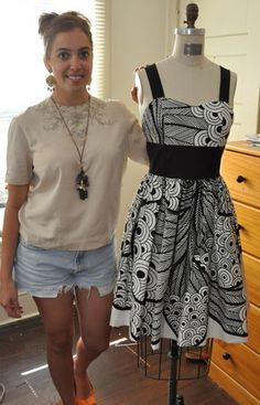 Zentangle Dress by Patrice Gentile of Aliceanna Designs, Anapolis, MD.