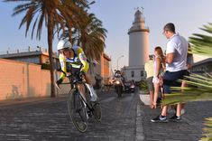 MALAGA, SPAIN - AUGUST 25: Rohan Dennis of Australia and BMC Racing Team / Lighthouse / during the 73rd Tour of Spain 2018, Stage 1 a 8km Individual Time Trial from Malaga to Malaga / La Vuelta / on August 25, 2018 in Malaga, Spain. (Photo by Tim de Waele/Getty Images)