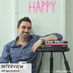 INTERVIEW: Igor Josifovic from Happy Interior Blog | MUNCHEN | via www.archana.nl | @igorjosif