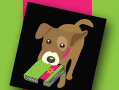 """Introducing Scrappy, the official mascot of ScrapBands and the very-cute-and-cuddly inspiration behind our tagline: """"Your Scrapbook's Best Friend""""!!!"""