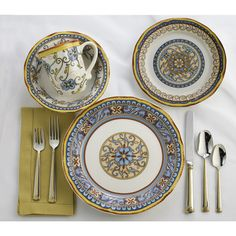 Found it at Wayfair Supply - Duomo 16 Pieces Dinnerware Set