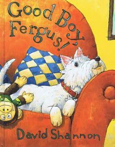 Good Boy, Fergus!: David Shannon: 9780439490276: Amazon.com: Books