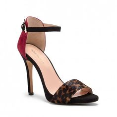 Women s Brown Ruby Black Suede 4 1 4 Inch Ankle Strap Heel   Sheila by ·  Discount Womens ... fc43a1209d