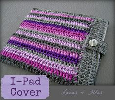 Cool Striped I-Pad Cover!
