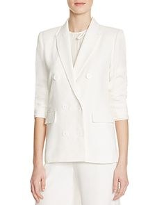 Sandro Vanny Double Breasted Blazer - 100% Bloomingdale's Exclusive