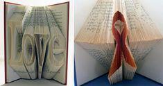 Creative Book Folding Art from Isaac Salazar
