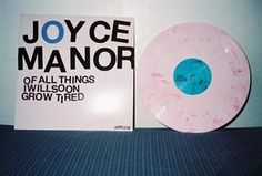 Joyce Manor -Of All Things I Will Soon Grow Tired (1st press - pink /150)
