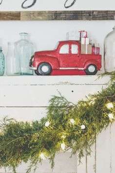 8 in. Truck with Christmas Presents Table Decor from Martha Stewart Living Safari Home Decor, Home Wall Decor, Home Decor Furniture, Home Decor Items, Cheap Home Decor, Home Decor Accessories, Diy Home Decor, Decor Crafts, Home Depot Christmas Decorations