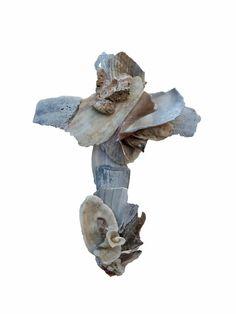Wedding cross, seashell cross sculptured from natural seashells, original seashell crucifix, religious wall art, beach wedding gift creative Beach Wedding Gifts, Creative Wedding Gifts, Catholic Confirmation Gifts, Christian Wall Decor, Wedding Cross, Beach Wall Art, Wall Crosses, Orange Beach, Cross Jewelry