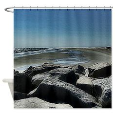 Ocean Pool Shower Curtain